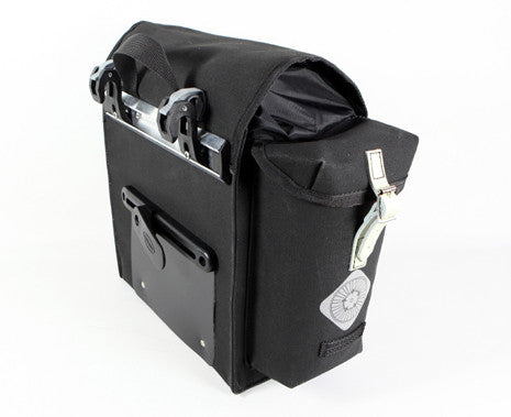 CARRADICE Original Kendal Bicycle Panniers - Pair - Black AUSTRALIA