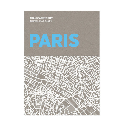 PALOMAR Transparent City Map - Paris