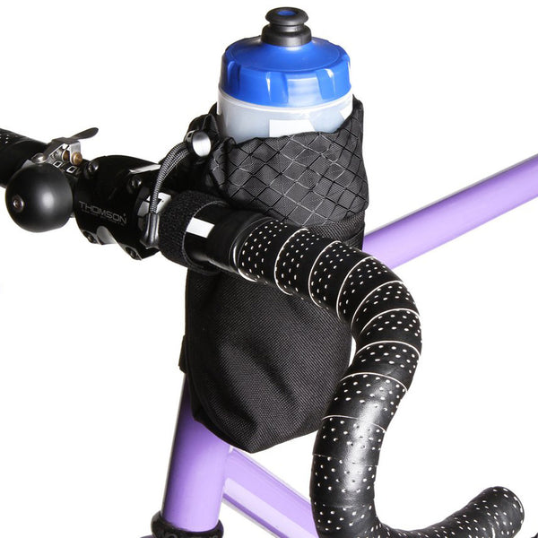 ROAD RUNNER - Co-Pilot Handlebar Bag - Purple Cordura