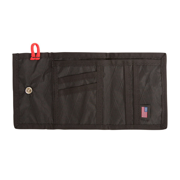 TOPO DESIGNS - Snap Wallet - Black X-Pac