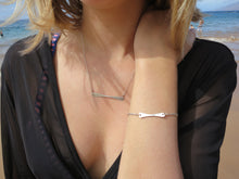 Handlebar Bracelet in 14k gold Fill or Sterling Silver