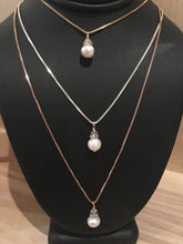 Ava Pearl Drop Necklace