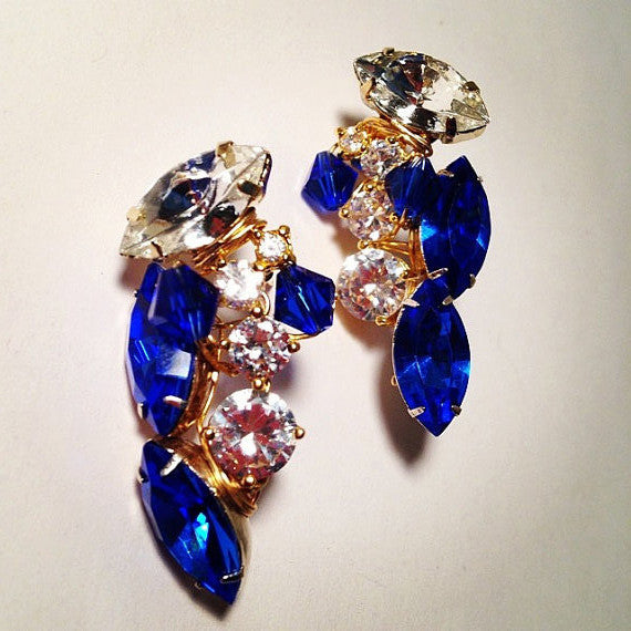 Cluster Stud Earrings - Picasso