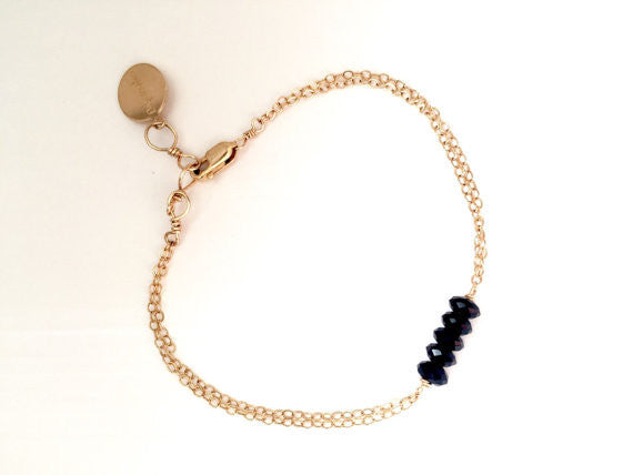 Fifth Element Black Onyx Stone Bracelet