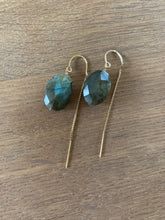 Labradorite thread Earrings