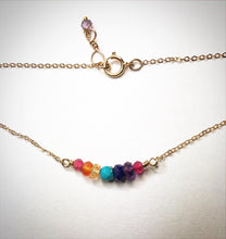 Chakra Healing Stones necklace or bracelet