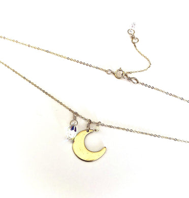 Sailor Moon Moonstone Necklace