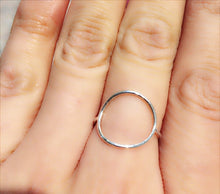 Circle Ring in Sterling silver