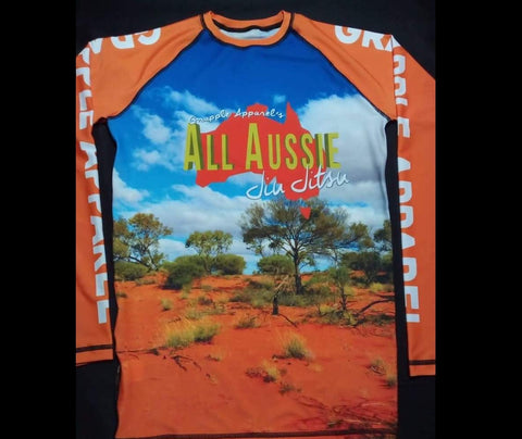 All Aussie Jiu Jitsu Rashguard (Male)