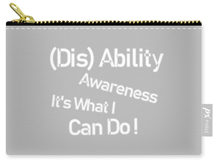 Disability Awareness - Carry-All Pouch