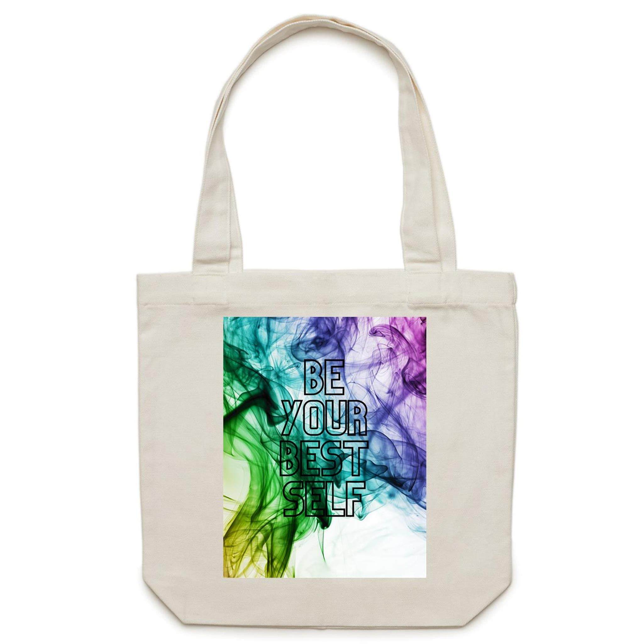 Be Your Best Self - Canvas Tote Bag