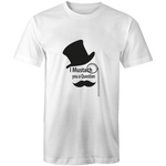 - Mens T-Shirt  I mustach you a question