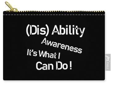 Disability Awareness - Carry All Pouch