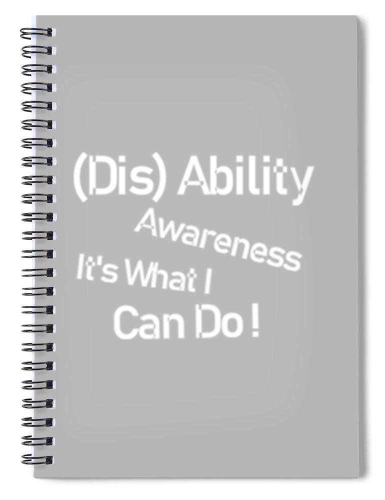Disability Awareness - Spiral Notebook