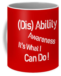 Disability Awareness Mug