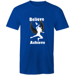 Men's T-Shirt- believe and achieve