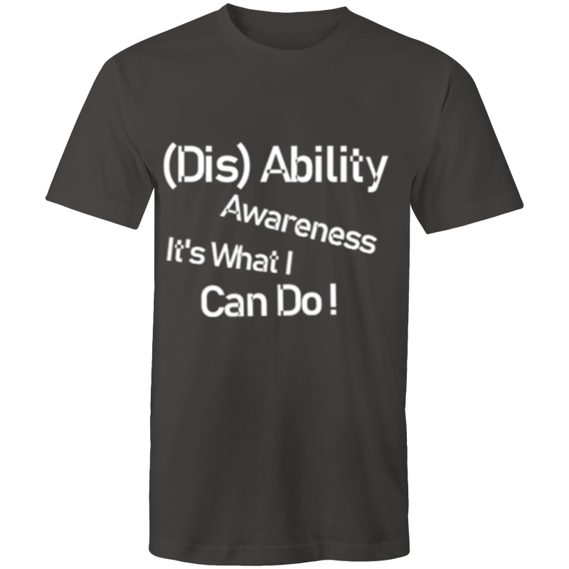 Womens T-Shirt- (DIS)Ability awareness It's what I can do