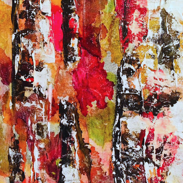 Birch Original Painting
