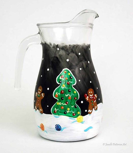 Gingerbread Pitcher - Janelle Patterson Art