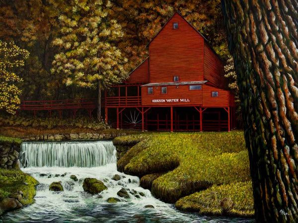 Hodgson Mill Original Painting