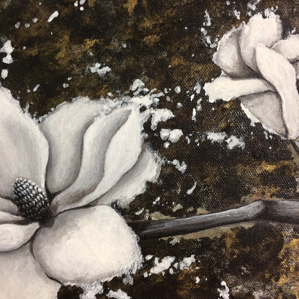 Magnolia Original Painting