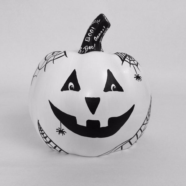 Spooky Spider Special Edition 2020 Ceramic Pumpkin