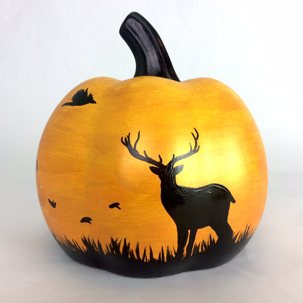 Autumn Deer Special Edition 2020 Ceramic Pumpkin
