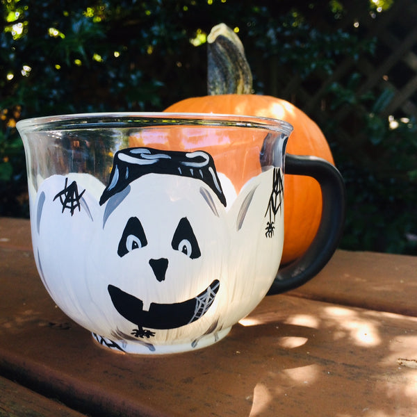 Boo! Glass Mug