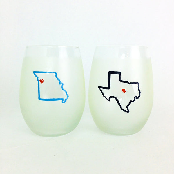 LC CUSTOM ORDER Stemless Glasses