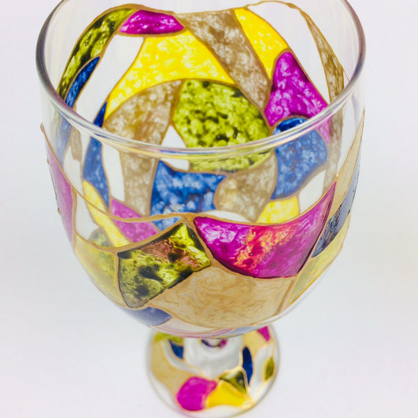 Cathedral Wine Glass