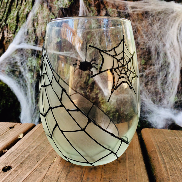Spider Stemless Glass