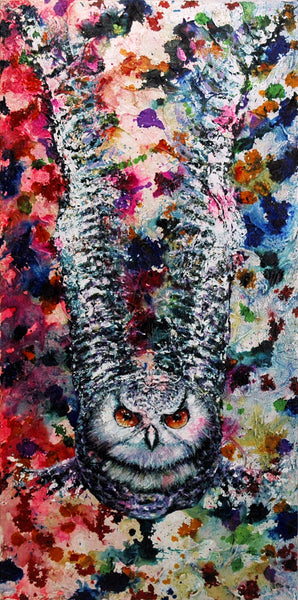 Owl Original Painting