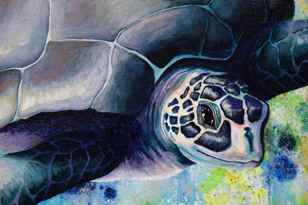 Sea Turtle Original Painting