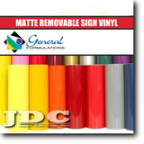 "General Formulations 24"" / (501) White Sign Supplies Sign Vinyl 