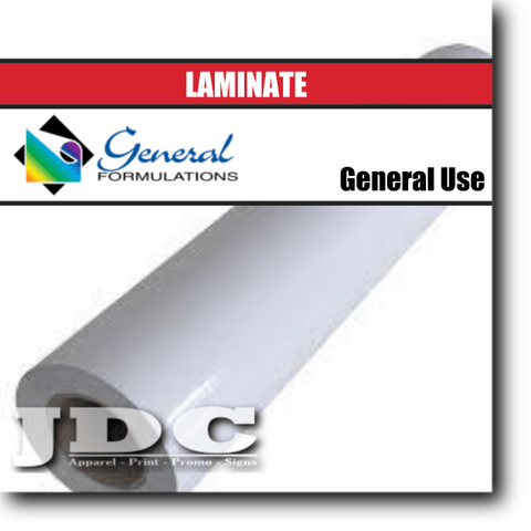 "General Formulations 54"" / (100) Gloss Sign Supplies Laminate 