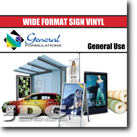 "General Formulations 54"" / (201) Matte Sign Supplies Sign Vinyl 