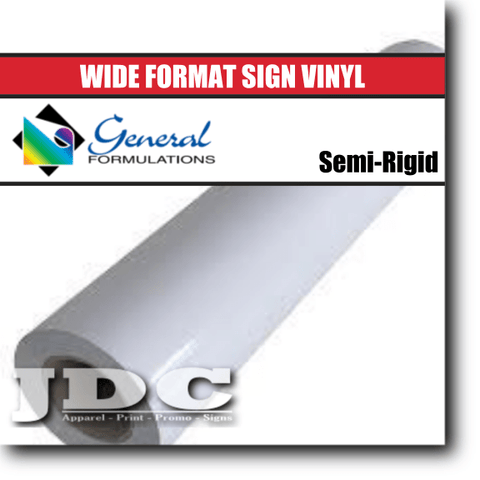 "General Formulations 54"" / Gloss / Permanent Sign Supplies Sign Vinyl 