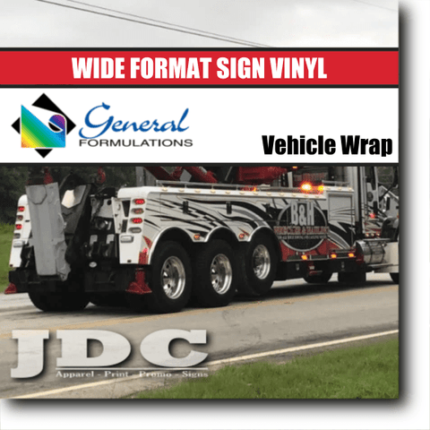 "General Formulations 54"" Sign Supplies Sign Vinyl 