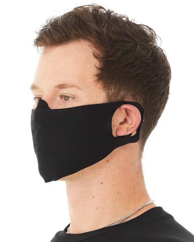 Gildan Black / OSFA Apparel Apparel | Jersey Cotton Face Cover Wholesale Craft Sign Vinyl Monroe GA 30656