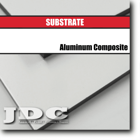 JDC, LLC Substrates Board | Aluminum Composite | 4 ft. x 8 ft.