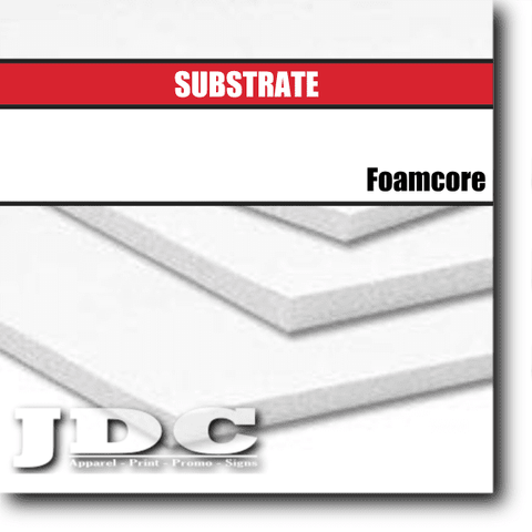 JDC, LLC Substrates Board | Foamcore | 4 ft. x 8 ft.