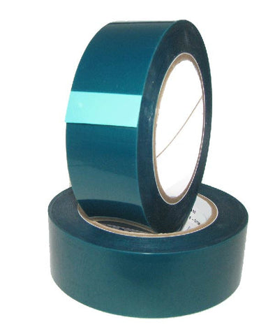 1.5 Inch x 72 yds High Temperature Polyester Green Masking Tape - High Temp Tapes