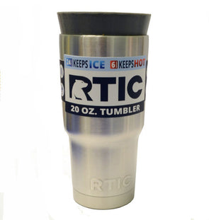 20 Ounce Tumbler Masking Plug for Yeti and RTIC - Plug and Cap Kits