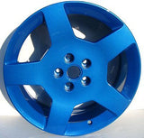 Dormant Light Blue Powder Coat