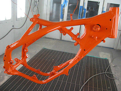 KTM Orange Powder Coating Paint 1 LB - Powder Coating Paint