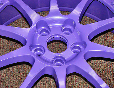 High Gloss Purple Powder Coating Paint 1 LB - Powder Coating Paint