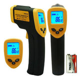 Infrared Thermometer for Powder Coating - Non Contact Laser LED Screen! - High Temp Tapes