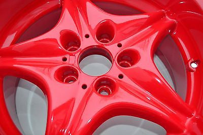 Super Durable High Gloss Red Powder Coat Powder Paint - Powder Coating Paint