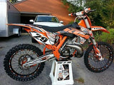 KTM Orange Powder Coat Powder Coating Paint