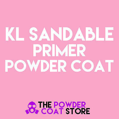 KL Primer Sandable Powder Coating Paint 1 LB - Powder Coating Paint